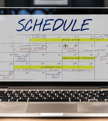 3 best methods for creating a work schedule calendar