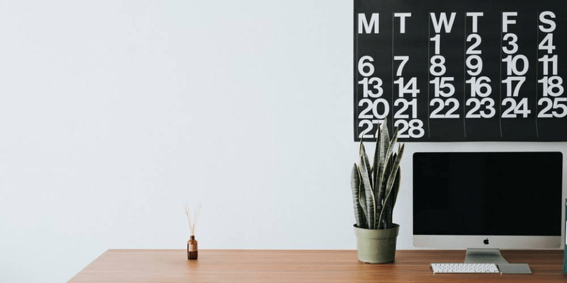 how to create a monthly schedule template