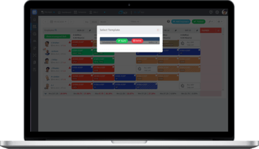 employee schedule request management